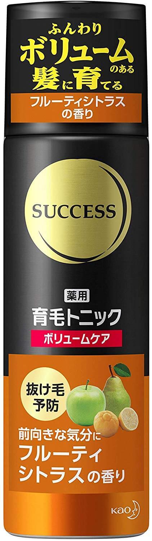 サクセス 薬用育毛トニック ボリュームケア フルーティシトラスの香り